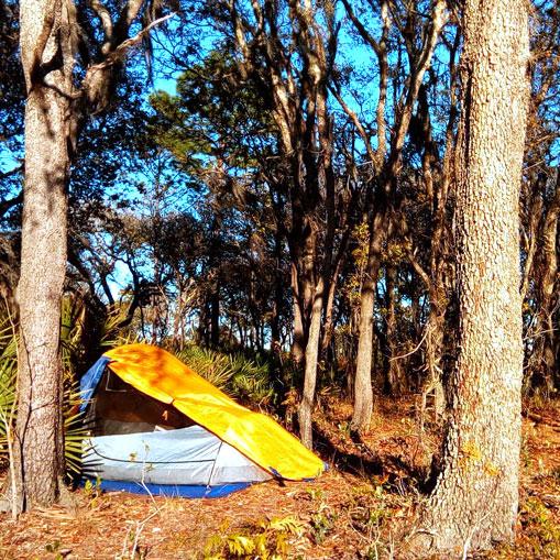 DIY Tent Footprint